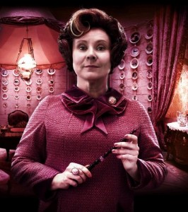 Imelda Staunton as Professor Umbridge